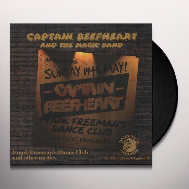 Captain Beefheart FRANK FREEMAN'S DANCE CLUB Vinyl Record