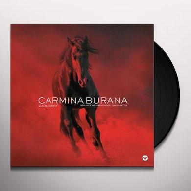 Sir Simon Rattle Orff: Carmina Burana Vinyl Record