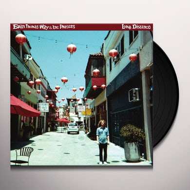 Evan Way Thomas & The Phasers LONG DISTANCE Vinyl Record