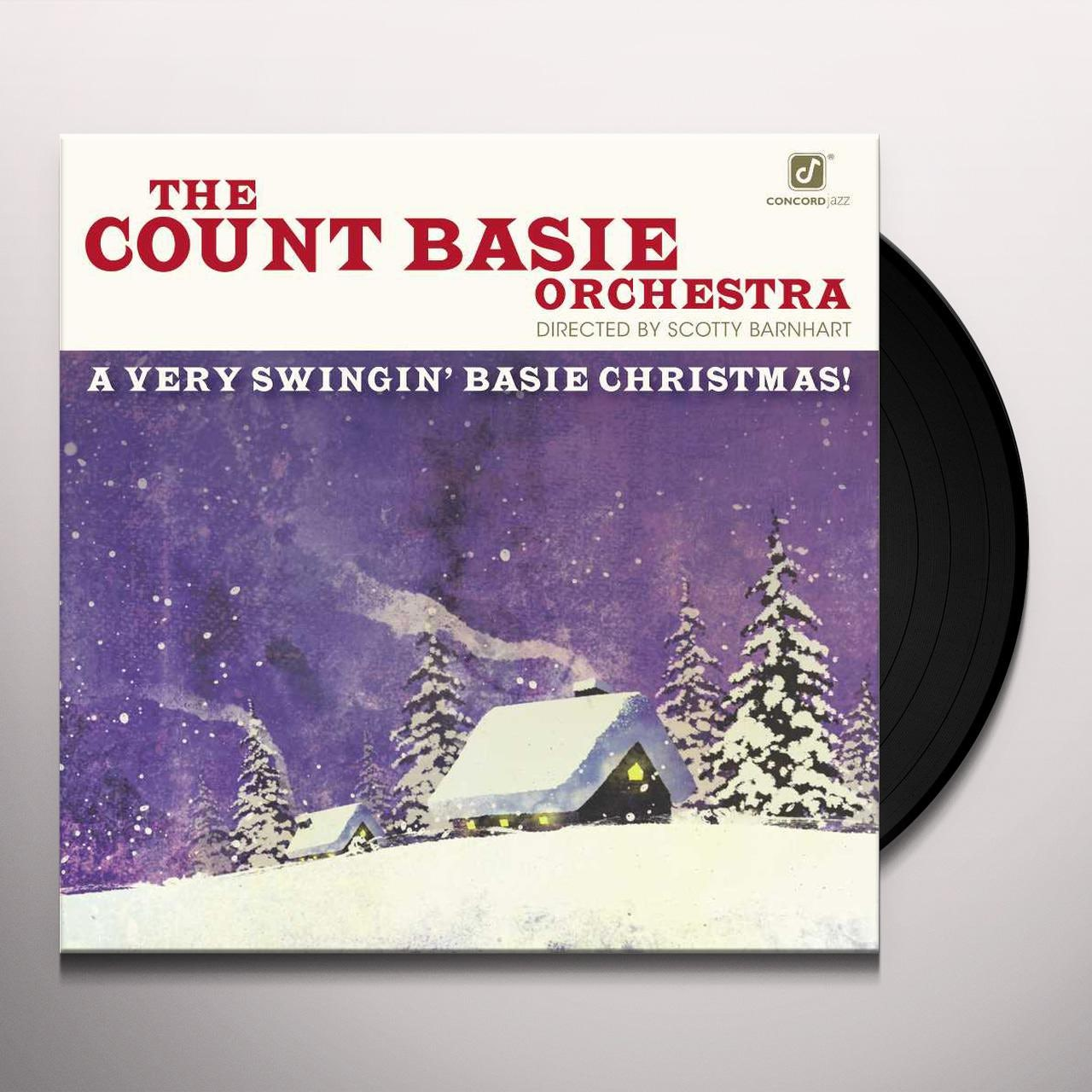 A Very Swinging Basie Christmas.Scotty Barnhart Count Basie Very Swingin Basie Christmas Vinyl Record