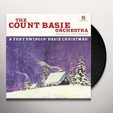 Scotty Barnhart VERY SWINGIN BASIE CHRISTMAS Vinyl Record