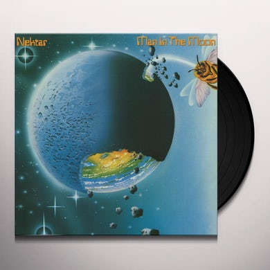 Nektar MAN IN THE MOON Vinyl Record