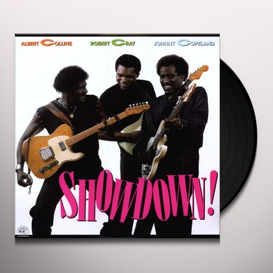 Albert Collins SHOWDOWN Vinyl Record