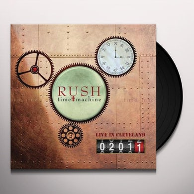 Rush Time Machine 2011: Live in Cleveland Vinyl Record