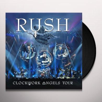 Rush Clockwork Angels Tour Vinyl Record