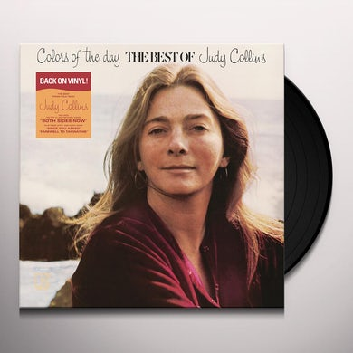 COLORS OF THE DAY THE BEST OF JUDY COLLINS Vinyl Record