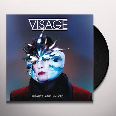 Visage HEARTS & KNIVES Vinyl Record