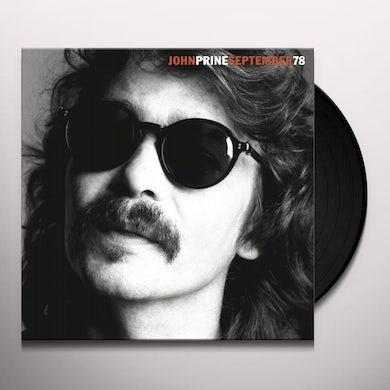 John Prine SEPTEMBER 78 Vinyl Record