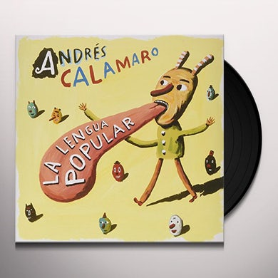 Andres Calamaro LA LENGUA POPULAR Vinyl Record