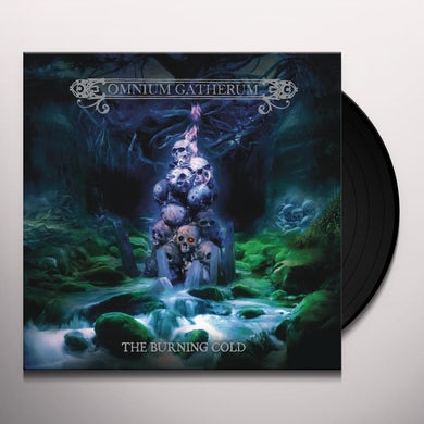 Omnium Gatherum BURNING COLD - Limited Edition Gatefold 180 Gram Colored Vinyl Record