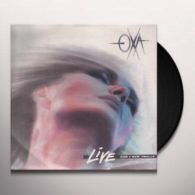 Anna Oxa LIVE CON I NEW TROLLS Vinyl Record