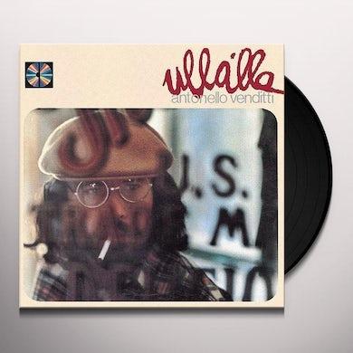 Antonello Venditti ULLALLA Vinyl Record
