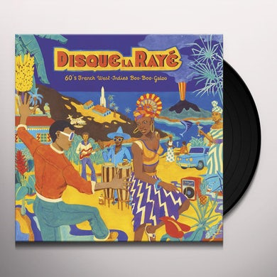 Disque La Raye: 60'S French West-Indies Boo / Var Vinyl Record