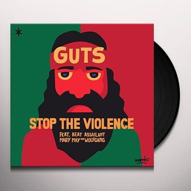 Guts STOP THE VIOLENCE Vinyl Record