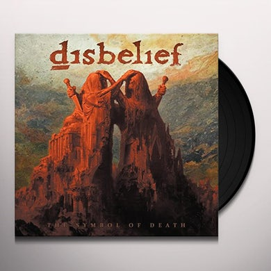 Disbelief SYMBOL OF DEATH Vinyl Record