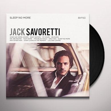 Jack Savoretti SLEEP NO MORE Vinyl Record