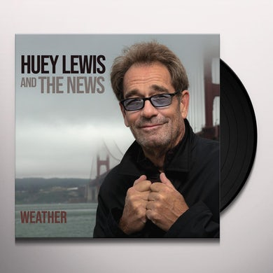 Huey Lewis & The News WEATHER Vinyl Record