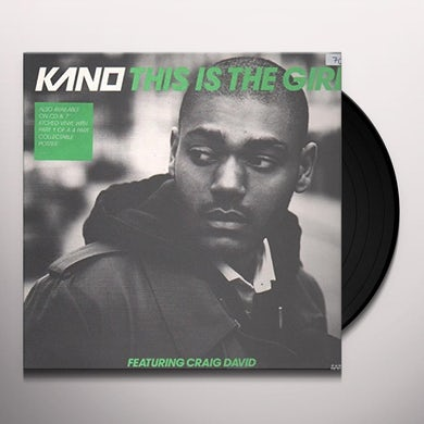 Kano THIS IS THE GIRL Vinyl Record