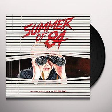 Le Matos  SUMMER OF 84 (ORIGINAL SOUNDTRACK) Vinyl Record