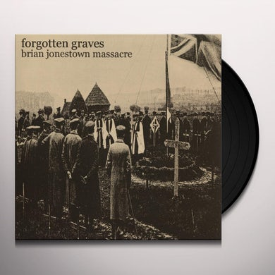 The Brian Jonestown Massacre FORGOTTEN GRAVES Vinyl Record
