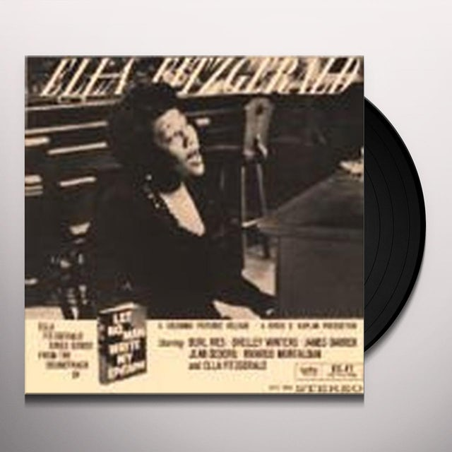 Ella Fitzgerald LET NO MAN WRITE MY EPITAPH (Vinyl)