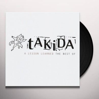 Takida LESSON LEARNED (THE BEST OF) Vinyl Record - Sweden Release