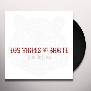Los Tigres Del Norte   JEFE DE JEFES Vinyl Record
