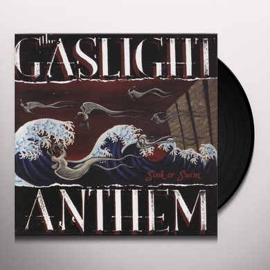 The Gaslight Anthem SINK OR SWIM Vinyl Record - Limited Edition