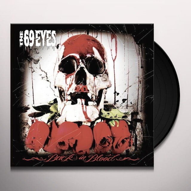 69 Eyes BACK IN BLOOD Vinyl Record