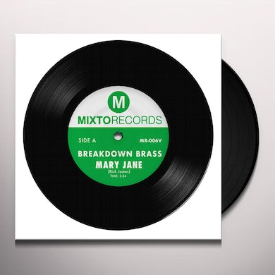 Breakdown Brass MARY JANE / THE HORSEMAN Vinyl Record