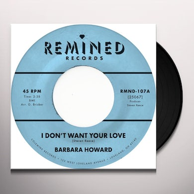 I DON'T WANT YOUR LOVE Vinyl Record