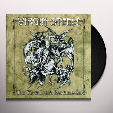 Virgin Steele BLACK LIGHT BACCHANALIA (BOX) Vinyl Record
