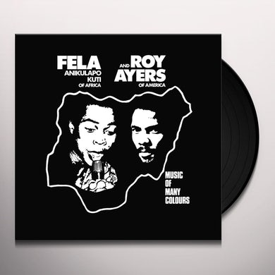 Fela Kuti MUSIC OF MANY COLOURS Vinyl Record
