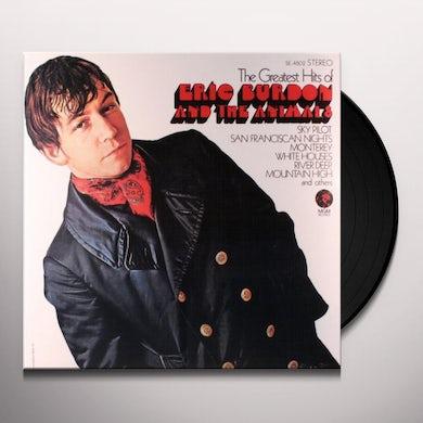 Eric Burdon / The Animals GREATEST HITS OF Vinyl Record