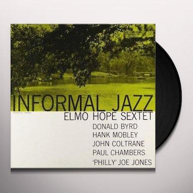 Elmo Hope INFORMAL JAZZ Vinyl Record