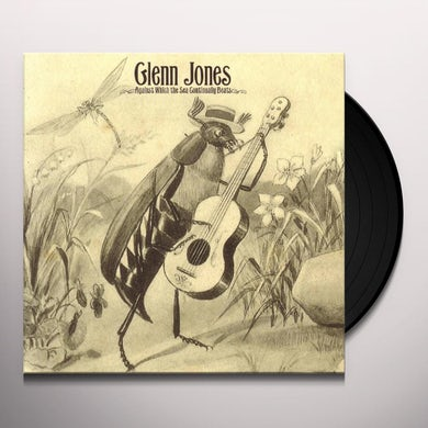Glenn Jones AGAINST WHICH THE SEA CONTINUALLY BEATS Vinyl Record