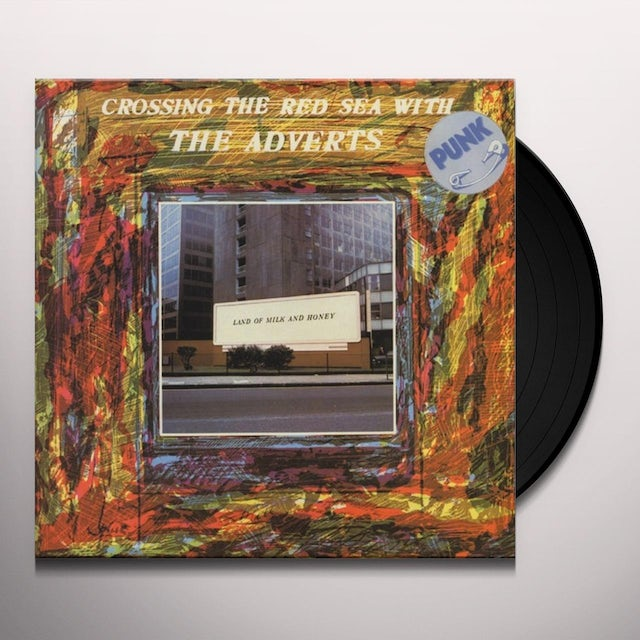 CROSSING THE RED SEA WITH THE ADVERTS Vinyl Record