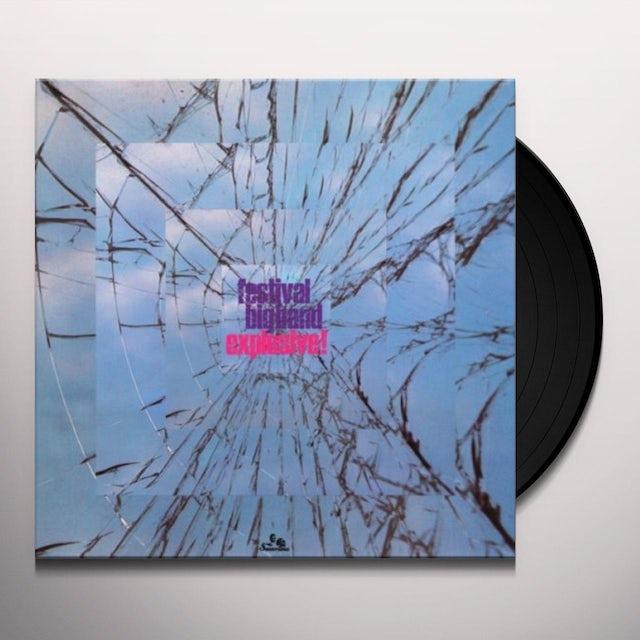 Festival Big Band EXPLOSIVE Vinyl Record