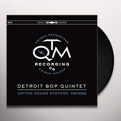 DETROIT BOP QUINTET UNITED SOUND SYSTEMS DETROIT MICHIGAN Vinyl Record