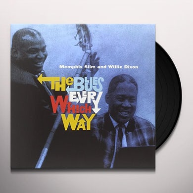 Memphis Slim BLUES EVERY WHICH WAY Vinyl Record