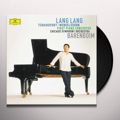 Lang Lang Tchaikovsky/Mendelssohn: First Piano Concertos Vinyl Record
