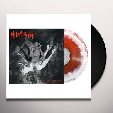 Midnight REBIRTH BY BLASPHEMY Vinyl Record