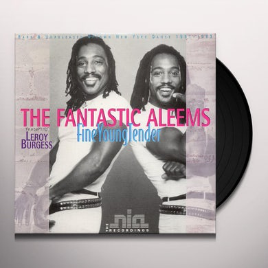 Fantastic Aleems STEPPING OUT Vinyl Record