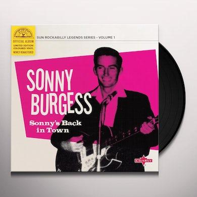Sonny's Back In Town (Limited 10  Pink V Vinyl Record