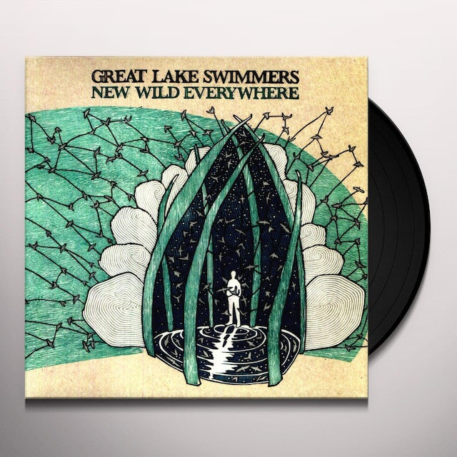 Great Lake Swimmers NEW WILD EVERYWHERE Vinyl Record