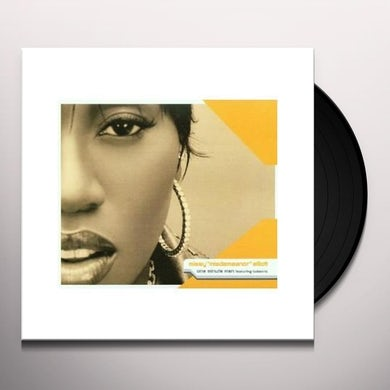 Missy Elliott ONE MINUTE MAN Vinyl Record