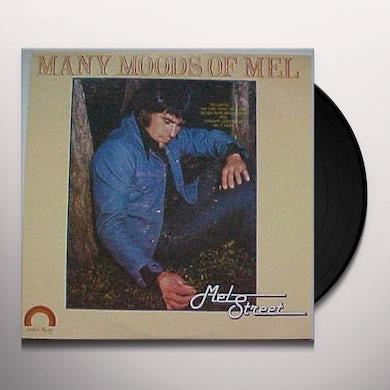 Mel Street MANY MOODS OF MEL Vinyl Record