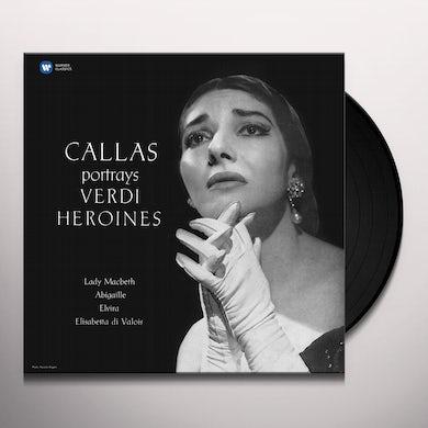Maria Callas CALLAS PORTRAYS VERDI HEROINES (VERDI 1 STUDIO) Vinyl Record