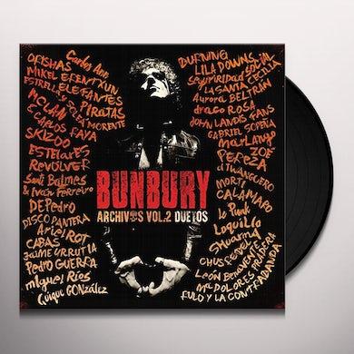 Bunbury ARCHIVOS VOL 2: DUETOS Vinyl Record
