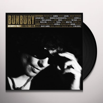 Bunbury ARCHIVOS VOL 1: TRIBUTOS Y BSOS Vinyl Record